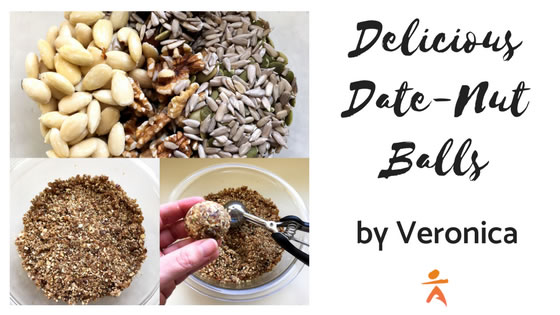 Delicious Date-Nut Balls